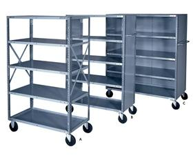 INDUSTRIAL SHELF TRUCK