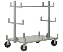 ALL-WELDED-PORTABLE BAR & PIPE TRUCK