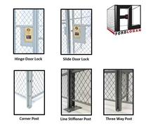 WOVEN WIRE MESH PARTITION ACCESSORIES